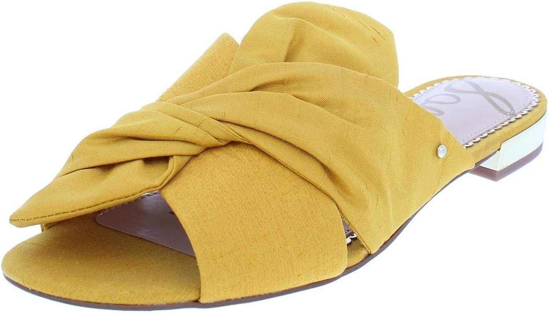 Sam Edelman Womens Darian Bow Slide Sandals