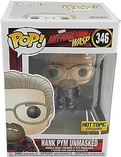 Hank Pym Unmasked 346 Exclusivo Pop Funko Ant-man Marvel