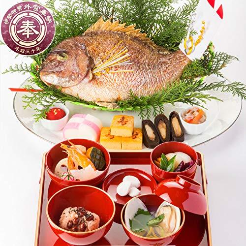 しほまねき『お食い初め大きな鯛のお料理セット』