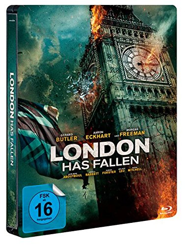 London Has Fallen - Exklusiv Limited Steelbook Edition (Backcover + Innendruck - Deutsche Version) Blu-ray