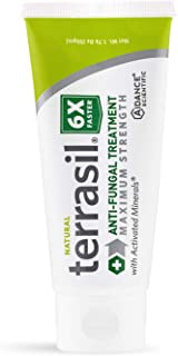 Terrasil Anti-fungal Treatment Max 50gm - 6X Faster Healing, Natural Soothing Clotrimazole OTC-Registered Ointment for Fun...