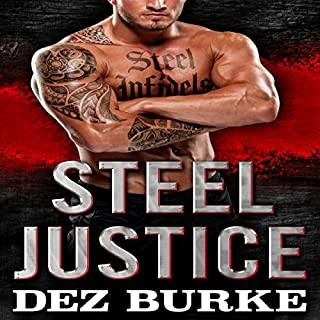 Steel Justice audiobook cover art