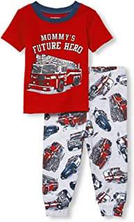 The Children's Place Baby Boys Novelty Printed Short Pajama Set