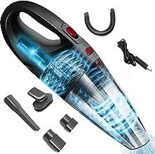 Aspiradora,120W Aspirador de Mano Sin Cable Potente, Aspirador Portátil de Mojado y Seca, con Filtro de Acero Inoxidable,F...