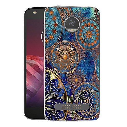 FoneExpert® Motorola Moto Z2 Play Tasche, Ultra dünn TPU Gel Hülle Silikon Hülle Cover Hüllen Schutzhülle Für Motorola Moto Z2 Play
