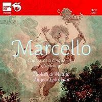 B.マルチェッロ:12の5声の協奏曲 Op.1&5つのシンフォニア