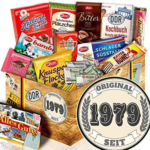 Original seit 1979 / DDR Schokoladenbox / Geburtstag Geschenke Frauen