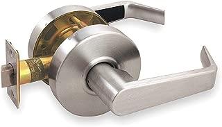 Door Lever Lockset, Angled, Passge, Grade 2