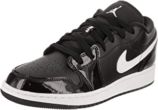 huge discount c23fd 5c4c7 Nike 553560-002   Air Jordan 1 Low Black White Boy s Trainers (5.5 Big