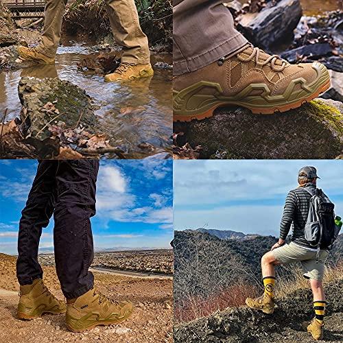Rockrooster Men's Walland Hiking Boot Waterproof Mid WP Ankle Boots(KS537-11.5)