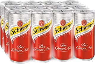 Schweppes Dry Ginger Ale, 320ml (Pack of 12)