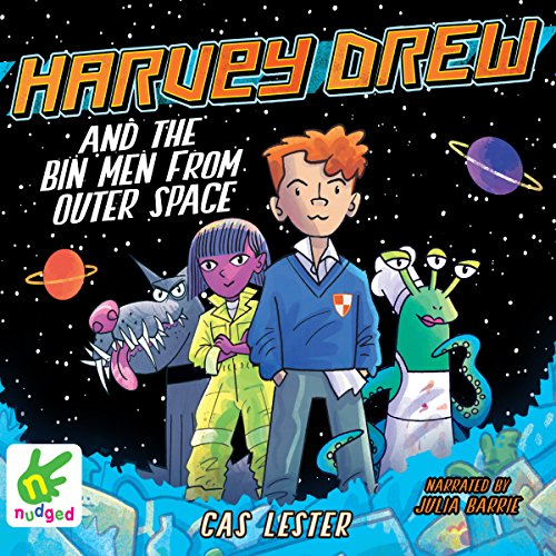Harvey Drew and the Bin Men from Outer Space cover art