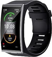 Docooler Smart Watch BT 5.0 touchscreen, 1,9 inch kleurenbeeldscherm, gebogen oppervlak, ondersteuning van de hartslag, sl...