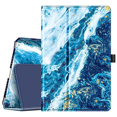 """Fintie Folio Funda Compatible con iPad 9.7"""" 2018/2017, iPad Air 2, iPad Air - [Protección de Esquina] Carcasa Primera con Función de Soporte y Auto-Reposo/Activación, Azul Océano"""