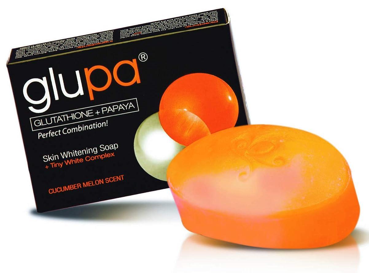定期的に拡張ショットglupa Glutathione+PAPAYA Skin Soap(美容石けん?正規輸入) 135g