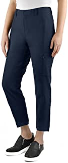 Ladies Ankle Length Travel Pant (2, Navy)