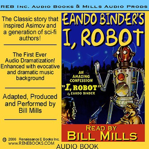 I, Robot audiobook cover art