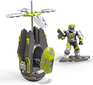 Mega Construx Halo Guillotine Drop Pod Playset
