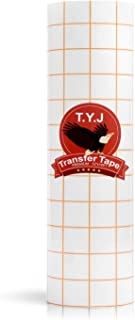 T.Y.J Transfer Tape for Vinyl, Paper Roll 12
