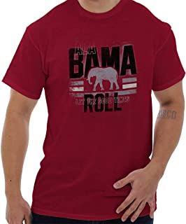 Brisco Brands Alabama Good Times Roll Graphic College T Shirt Tee
