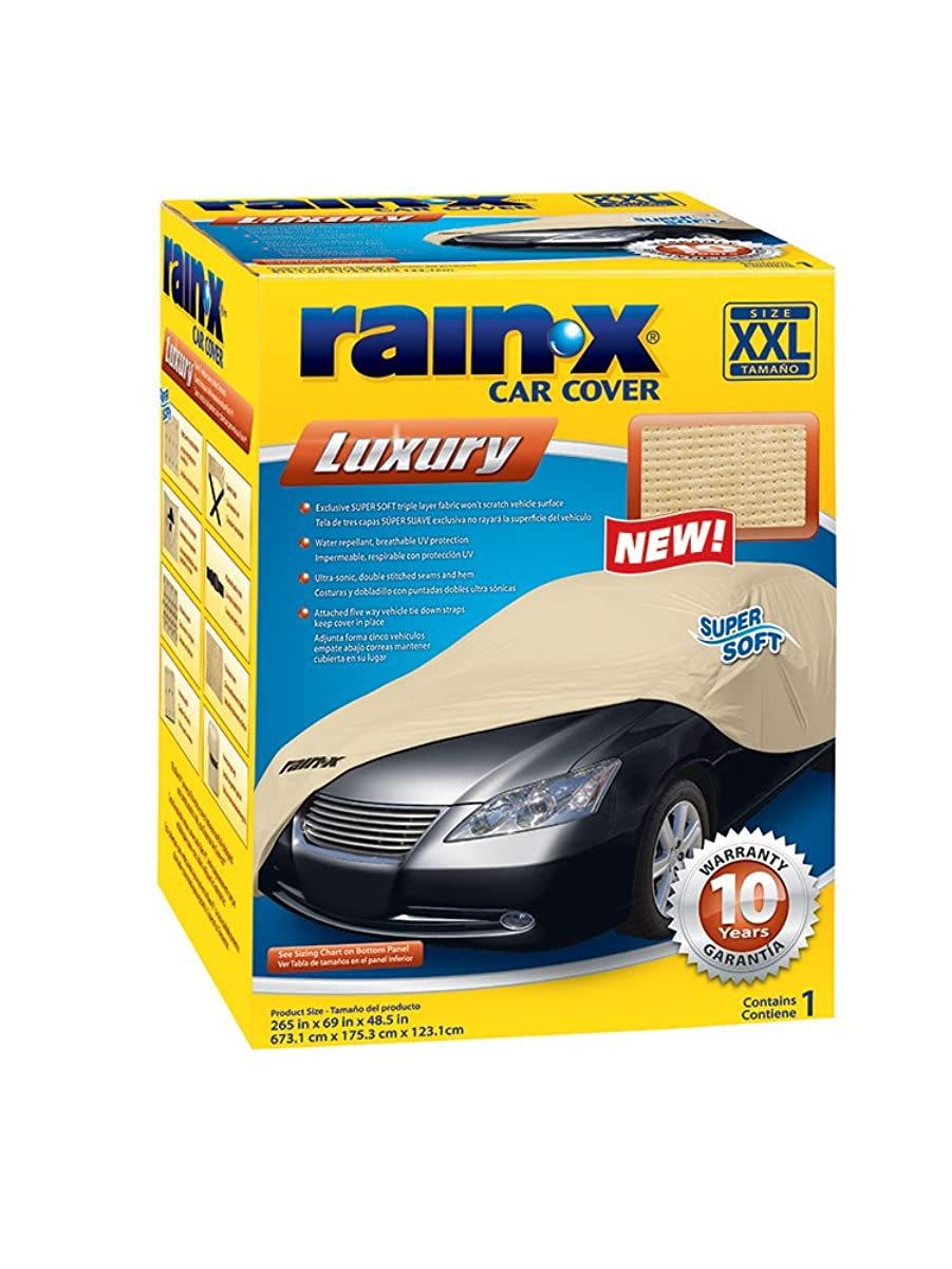 Rain-X 805529 Beige XX-Large Luxury Car Cover
