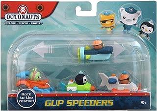 Octonauts Gup Speeders | Pack of 4 | Gup-J, Gup-L, Gup-P & Gup-Q
