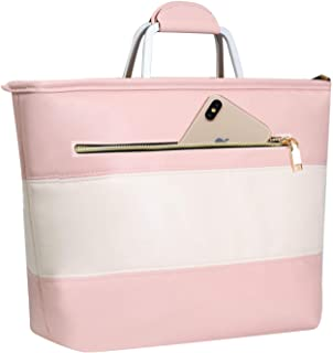 pink cooler tote