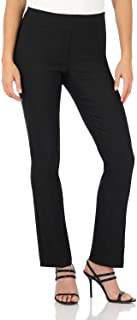 Rekucci Women's Ease in to Comfort Straight Leg Pant with...