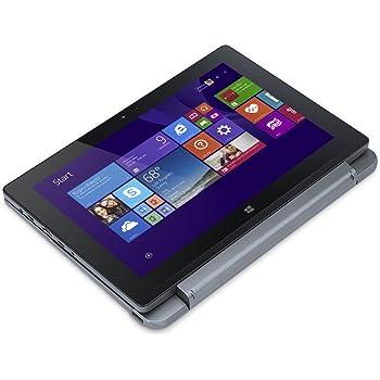 """Acer Aspire One 10 S1002-13G7 - Portátil de 10.1"""" (Atom Z3735F, 2 GB de RAM, disco HDD de 500 GB + 32 GB eMMC, tarjeta gráfica UMA, Windows 10 Home), color gris"""