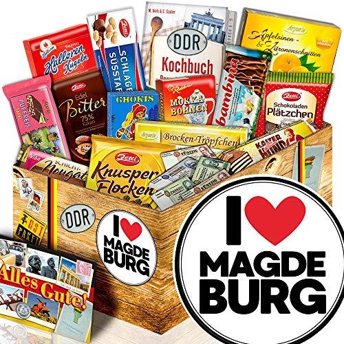 I love Magdeburg - DDR Schokoladen Geschenk - Magdeburg Geschenk Paar