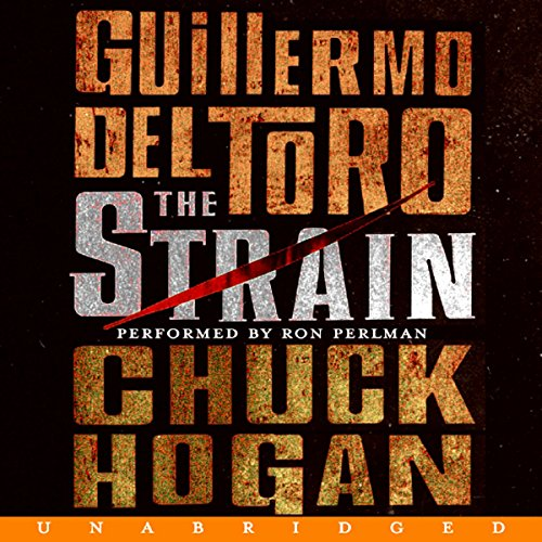 The Strain audiobook cover art