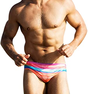 FONMA Fashion Men Trunks Breathable Beach Print Running Swimming Underwear Pants