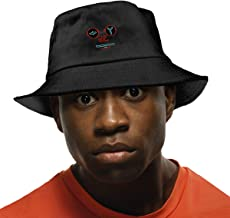 Obey Face Bucket Hat,Summer Fisherman Cap,Protection Hat Black