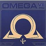 Xiom, Rivestimento per racchette da ping pong Omega VII Pro, 095882, rot, 2,3 mm...
