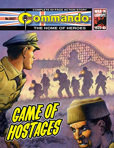 Commando #5027: Game Of Hostages (English Edition)