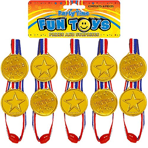 German Trendseller® - 12 x Gold Medaillen ┃ Sieger Medallien ┃ Super Medallien ┃ Podium ┃ Kinder lieben Diese Gold Medallien