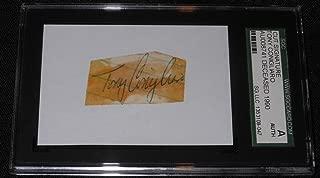 tony conigliaro autograph