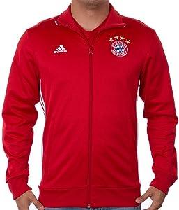 adidas Men's Fc Bayern 3 Stripe Track Top
