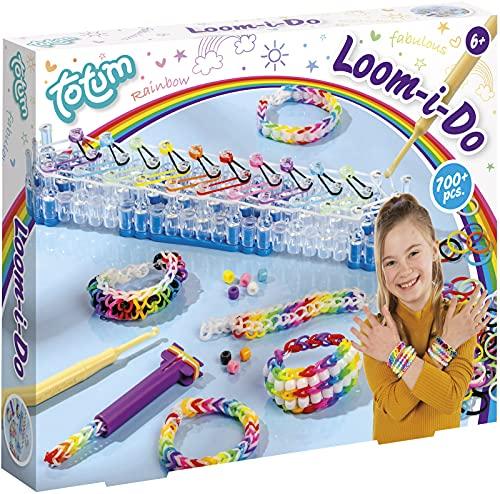Creativity Loom I do - Set di gioielli fai da te con oltre 700 elastici colorati