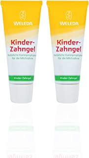 WELEDA Kinder-Zahngel 2 X 50 Ml, Bio Zahnpasta, Vegan, Fluoridfrei, Naturkosmetik