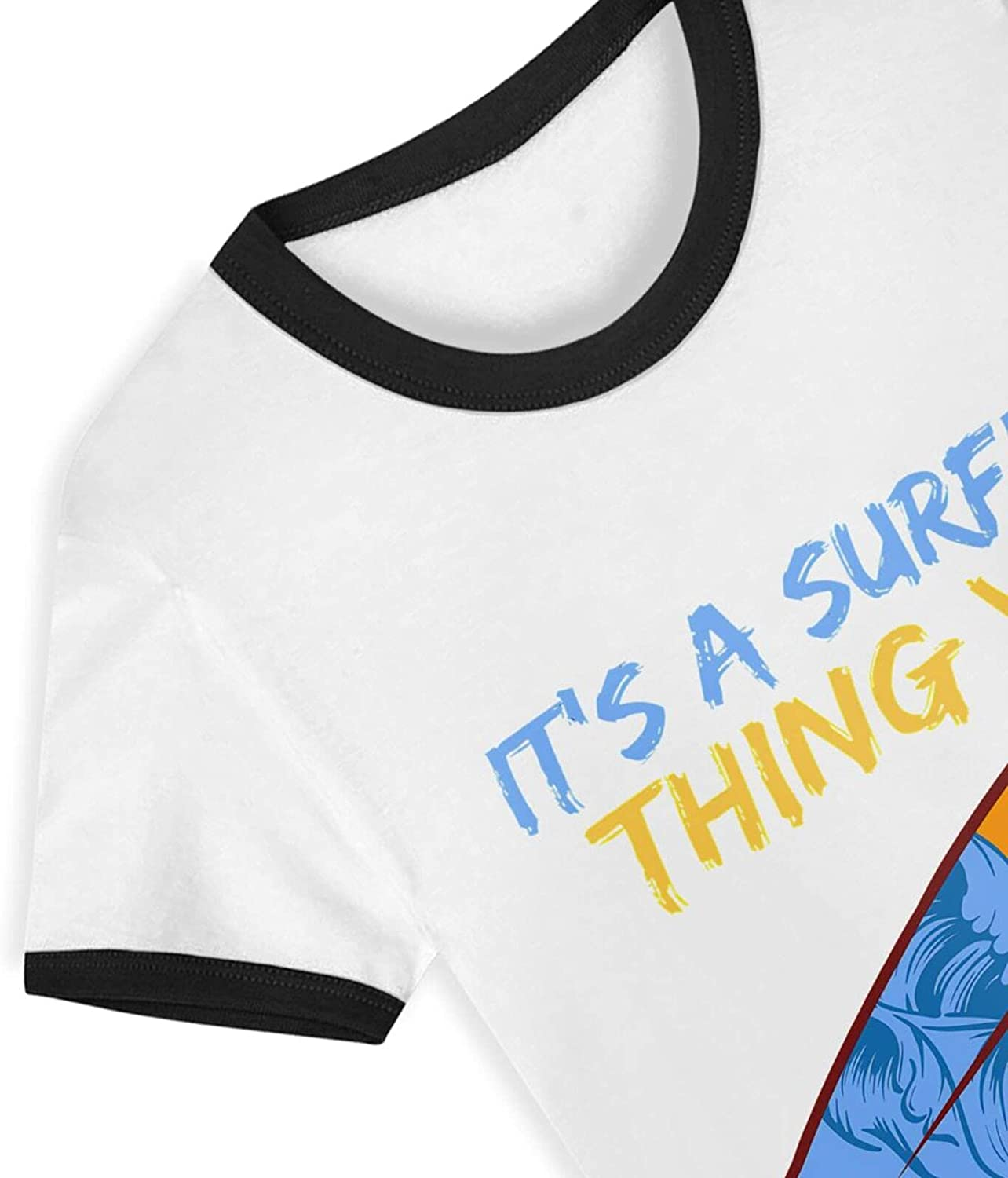 Its A Surfing Thing You Wouldnt Understand T-Shirts Novelty for Youth Tees with Cool Designs