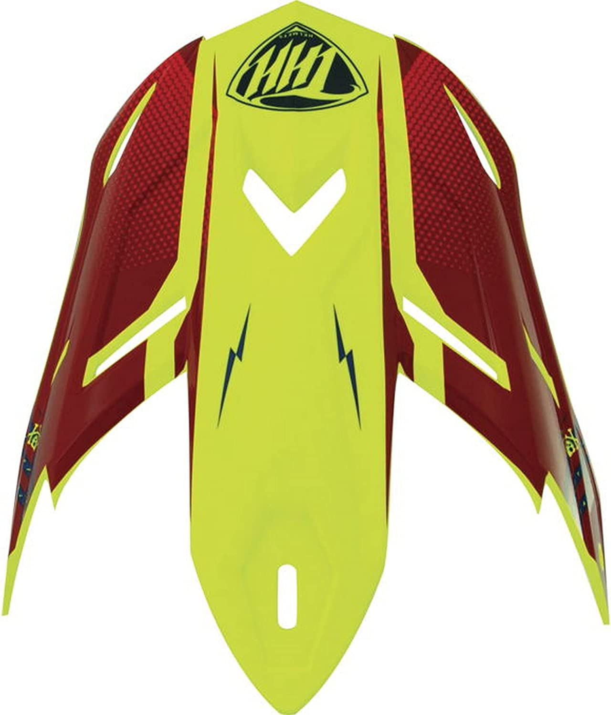 Financial sales sale THH T-710X Battle Helmet Replacement Visor overseas Peak Red Blue