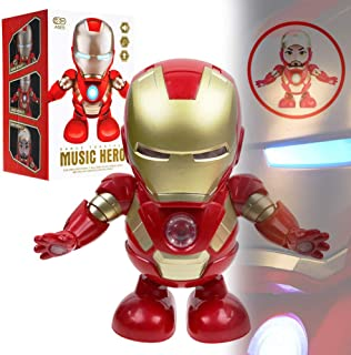 Mleslie Soul Dancer Man Toys with Music,Dancing Iron Man