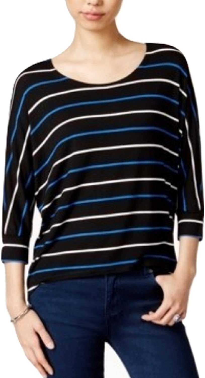 Maison Jules Striped DolmanSleeve Top