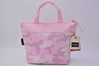JanSport Lunch Tote Cotton Candy Camo Print One Size