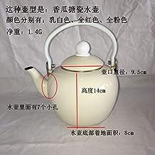 Emaille waterkoker melk theepot glazuur meloen waterkoker, 2,0 liter, koelkoker, geschenkkoker, universeel gasfornuis, gen...