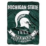 Michigan State Spartans 'Rebel' Raschel Throw Blanket, 60' x 80'
