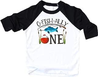 O-Fish-Ally- ONE Boys 1st Birthday Shirt Fishing First Birthday Boy Outfit