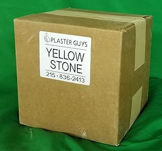 38 lb - Dental Yellow Buff Stone, Type III Lab Stone Yellow - Model Stone for Dental Laboratory and Dental Office