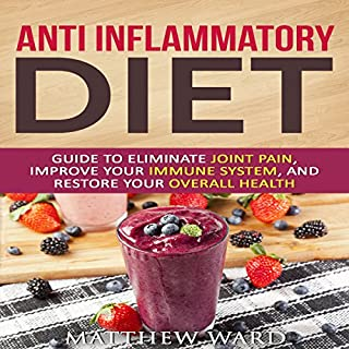 Anti Inflammatory Diet audiobook cover art